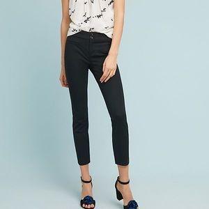2Pair of Essential Slim Cropped Pants Navy & Black